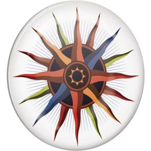 Aluminium Clutch Pin Badges