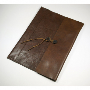 Ashbourne Full Hide Genuine Leather Envelope Case