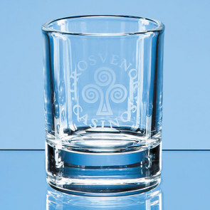 Round Hot Shot Tot Glass