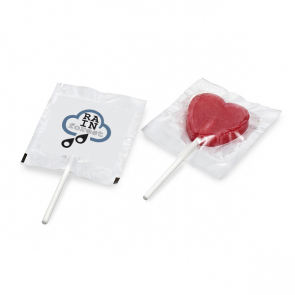 Flat Round Or Heart Shaped Lollipop