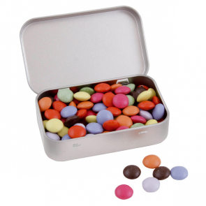Large Hinged Tin With Choice Of Sweets