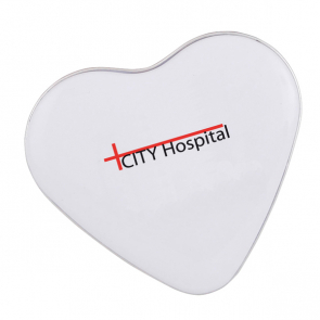 Heart tin with approx. 24gr of hearts