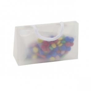 PVC Bag With Card Pocket And Coated Chocs