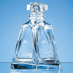 Crystalite Lovers Decanters