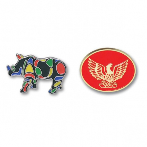 Soft Enamel Badge