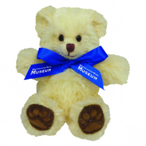 Chester Bear With Bow 5""