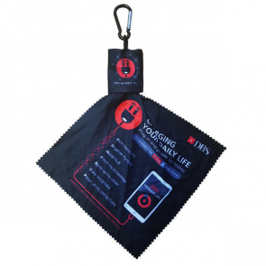 Microfibre Lens Cloth with Pouch