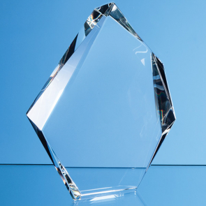 Optical Crystal Facetted Ice Peak Award