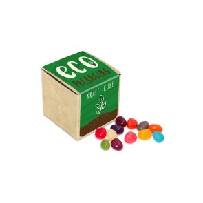 Eco Range – Eco Kraft Cube - The Jelly Bean Factory® - 50g