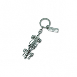 Racing Car Keyring With Tag