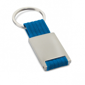 Tech Metal Rectangular Keyring