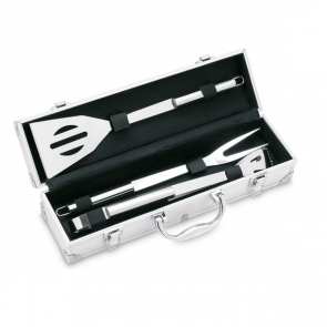 Asador 3 Bbq Tools In Aluminium Case