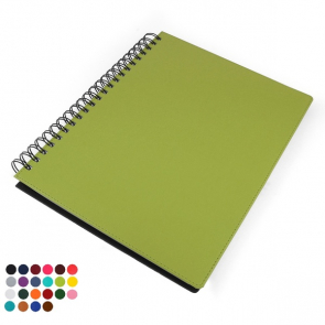 Belluno PU Colours A4 Wiro Souft Touch Notebook