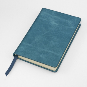 Kensington Distressed Nappa Leather Pocket Casebound Notebook