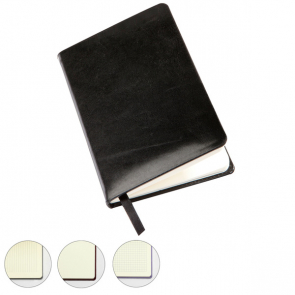 Sandringham Nappa Leather Pocket Casebound Notebook