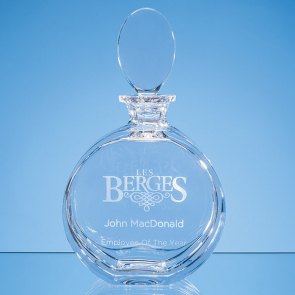 Lead Crystal Elena Round Spirit Decanter