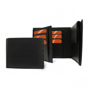 Sandringham Nappa Leather Three Way Wallet with Coin Pocket