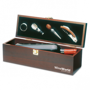Costieres Wooden Gift Box For Wine