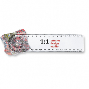 Lasta Ruler With Magnifier