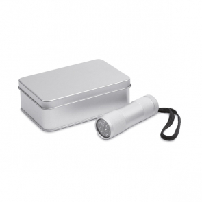 Led Plus Led Torch In Tin Gift Box