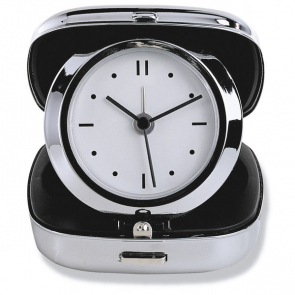 Glim Metal Travel Alarm Clock