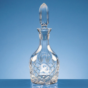 Lead Crystal Round Wine Decanter