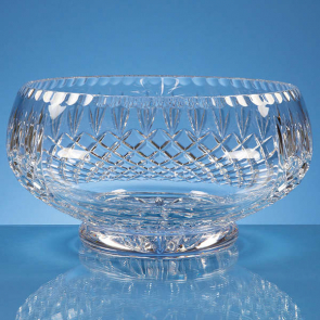 Lead Crystal Presentation Bowl
