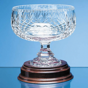 Lead Crystal Footed Bowl