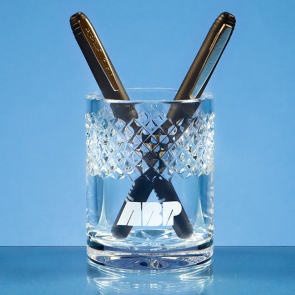 Lead Crystal Pen Holder