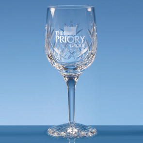 Blenheim Lead Crystal Panel Goblet