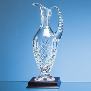 Lead Crystal Panelled Claret Jug