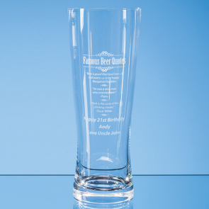Large Handmade Beer Glass