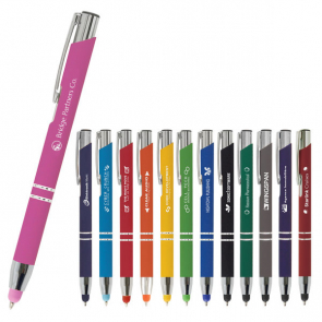 Crosby Soft Touch Stylus Ballpoint Pen