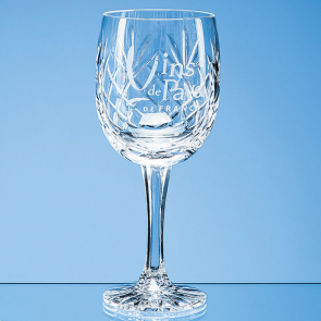 Glencoe Lead Crystal Panel Goblet