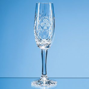 Glencoe Lead Crystal Panel Champagne Flute