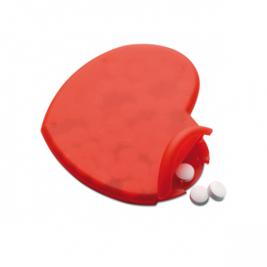Coramint Heart Shape Peppermint Box