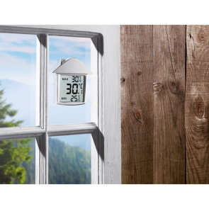 Termohouse Weatherstation With Suction Cup