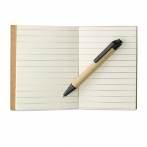 Cartopad Memo Note With Mini Recycled Pen