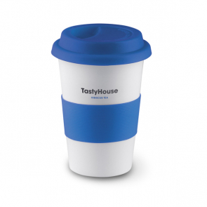 Tribeca Ceramic Mug With Lid And Sleeve