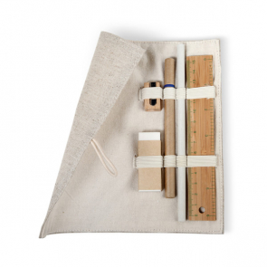 Ecoset Stationary Set In Cotton Pouch