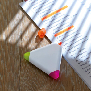 Triangulo Triangular 3Colour Highlighter
