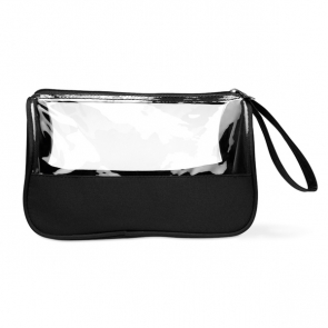 Plas Toiletry Bag Microfibre With PVC