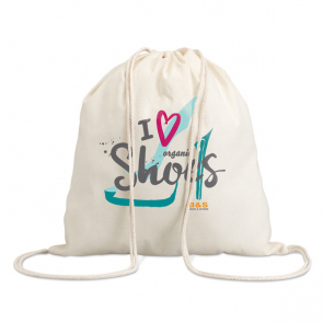 Hundred Cotton 100 Gsm Drawstring Bag