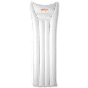 Air White Inflatable Beach Mattress