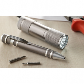 Combitool Torch And Screwdriver Set In Gift Box