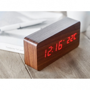 Buenos Aires LED Alarm Clock & Weatherstation
