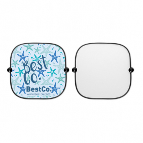 Sombra Light Car Window Shade (Set Of 2) With 2 Suctions