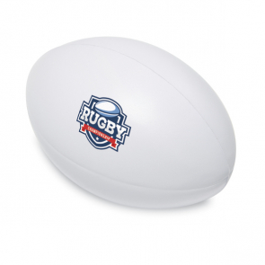 Madera PU Anti Stress In Rugby Ball Shape
