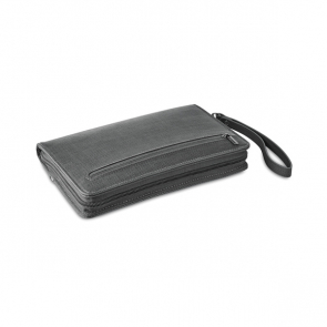 Powerfolder PU Organizer/Pouch With 4000 Mah Powerbank