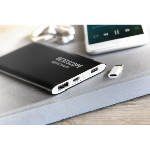 Powerflatc Power Bank 4000mAh With Type-C